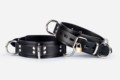 50mm Lockable Medium Duty Slave Collar with 4 D~Rings
